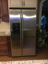 General Electric  GE  Profile Arctica Stainless Steel Counterdepth Refrigerator