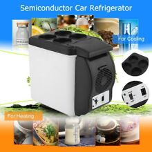 Portable 6L Capacity Car Household Refrigerator Cooler Warner Multi Function 12V