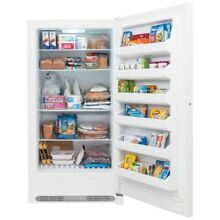 20 cu  ft  Frost Free Upright Freezer in White  ENERGY STAR