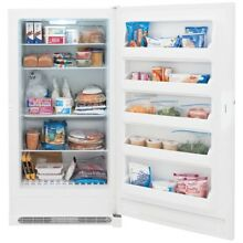16 6 cu  ft  Frost Free Upright Freezer in White  ENERGY STAR