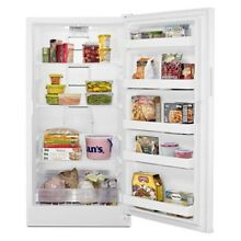15 7 cu  ft  Frost Free Upright Freezer in White