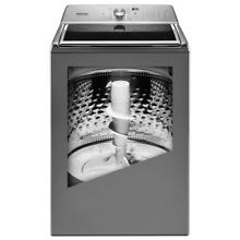 5 2 cu  ft  Top Load Washer with the Deep Fill Option and Power Wash Cycle in Me