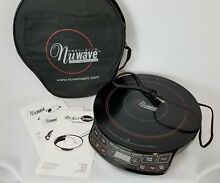 Nuwave Precision Induction Cooktop Clean 1300 watts 30101 Includes Travel Bag