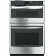 GE JK3800SHSS 27  Built In Microwave Thermal Wall Combo Oven Unopened Free Ship