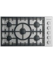 Fisher   Paykel CDV2365HLN 36  Stainless Propane Cooktop 5 Burner