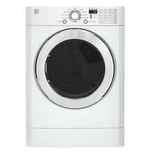 Kenmore Kenmore 91392 7 3 cu  ft  Front Load Flip Control Gas Dryer   White