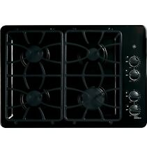 GE JGP333DETBB 30  Built In Gas Cooktop 4 Burner Black