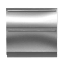Sub Zero 36  inch Integrated Double Drawer Refrigerator ID 36RP in Stainless