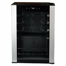 SMETA 19 Bottle Wine Cooler Under Counter Singal Zone Compressor Cooling Free
