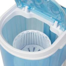 Best Choice Products Portable Mini Washing Machine Spin Cycle W  Basket  Drain