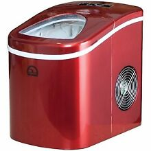 Igloo ICE108 Portable Countertop Ice Maker   Red