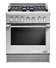 DCS RGV305N Pro Style 30   Slide In 5 Sealed Burner Natural Gas Range Stainless