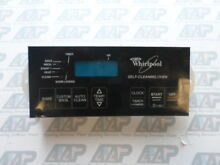 8522474 Whirlpool Black Stove Range Control  1 Year Guarantee  Same Day Ship