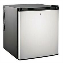 Culinair 1 7 Cubic Foot Compact Refrigerator in Silver   Black