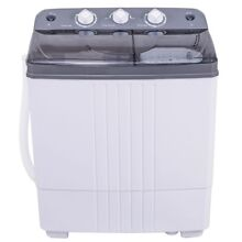 Mini Compact 16 lbs Twin tub Portable Mini Washing Machine Washer Spin Spinner