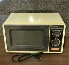VINTAGE 1985 EMERSON Model AR501 Countertop Microwave Oven MADE IN JAPAN 800W