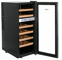 Wine Cooler Free Standing 21 Bottle Dual Zone Thermoelectric NewAir AW 211ED