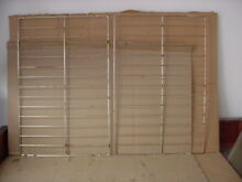 Tappan Range Oven Rack w  Some Staining Lot of 2 Part   316496201