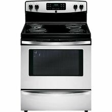 Kenmore Kenmore 94153 5 4 cu  ft  Self Cleaning Electric Range w   Convection O