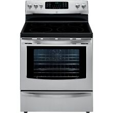 Kenmore Kenmore 94203 5 7 cu  ft  Electric Range w  True Convection   Stainles