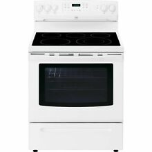 Kenmore Kenmore 94192 5 4 cu  ft  Electric Range w  Convection Oven   White