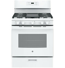 GE Appliances GE Appliances JGBS66DEKWW 30  Freestanding Gas Range   White