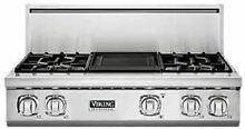 Viking Professional 7 Series 36  Pro Style Gas Rangetop VGRT7364GSS