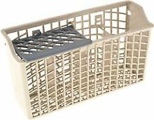 SILVERWARE BASKET  WHITE  FITS WHIRLPOOL   AMANA   MAGIC CHEF   MAYTAG