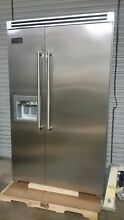 Viking 48  Side by Side Professional Refrigerator  VCSB5482DSS Stainless Steel