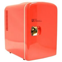 Uber Appliance UB CH1 Uber Chill Mini Fridge 6 can portable thermoelectric co