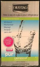 GENUINE MAYTAG UKF8001P REFRIGERATOR ICE   WATER FILTER 2 PACK REDUCES CYSTS