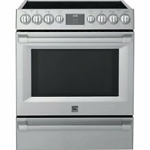 Kenmore Pro Kenmore Pro 92583 5 1 cu  ft  Electric Range with True Convection