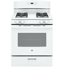 GE Appliances GE Appliances JGBS60DEKWW 30  Freestanding Gas Range   White