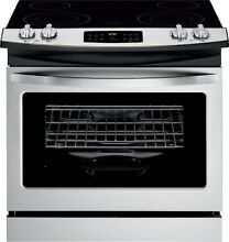 Kenmore Kenmore 42513 4 2 cu  ft  Drop In Electric Range   Stainless Steel