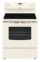 Kenmore 96184 5 4 cu ft Electric Range with Convection Freestanding Beige Bisque