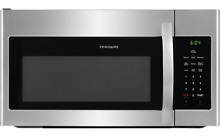 Frigidaire Microwave Oven Appliances Stainless Steel Over The Range  FFMV1645TS