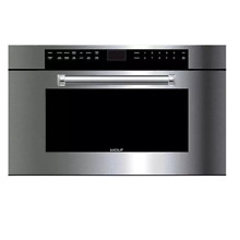 Wolf 30  inch M Series Stainless Steel Professional Microwave Oven w  Pro Handle
