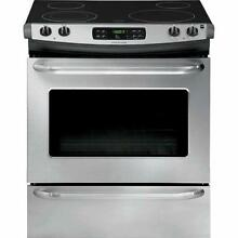Frigidaire 30  Stainless Steel Slide In Electric Range FFES3025PS