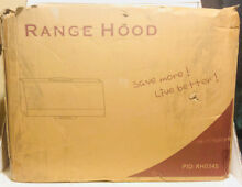 30 in  400 CFM Kitchen Under Cabinet Range Hood w Lights in Black Stainle RH0345