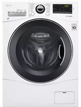 LG WM1388HW 24 Inch White Front Load Washer