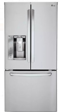 LG LFXS24623S 24 2 Cu  Ft  Stainless Steel French Door Refrigerator
