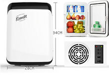 10L Mini Portable Refrigerator Car Refrigeration Food Cooling AC220V DC12V