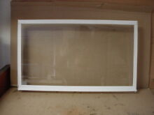 Kenmore Refrigerator Glass Shelf in Frame Part   297050601 216983100