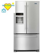 25 cu  ft  French Door Refrigerator in Fingerprint Resistant Stainless Steel