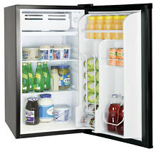 Frigidaire  Retro 3 2 Cu Ft Eraser Board Compact Fridge  Black