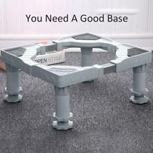 Universal Adjustable Washing Machine Fridge Base Laundry Pedestal Raised Stand