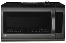 Kenmore Elite Kenmore Elite 87587 2 2 cu  ft  Over the Range Microwave Oven   Bl