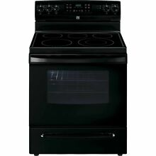 Kenmore Kenmore 94199 5 4 cu  ft  Electric Range w  Convection Oven   Black