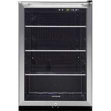 Frigidaire 4 6 Cu Ft  Stainless Steel Beverage Center Ffbc 4622QS