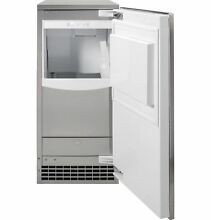 GE UCC15NJII UNIVERSAL PANEL READY Ice Maker 15 Inch   Gourmet Clear Ice